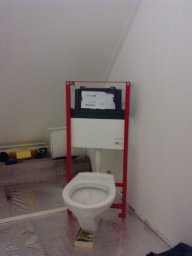 Hangend toilet niet aan een bestaande muur plaatsen - Muur wc ...
