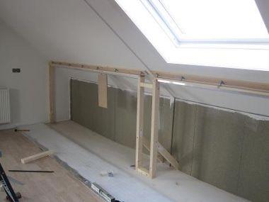 Schuifdeur kasten onder schuin dak belastbaarheid sporendak - Schilderij kamer ontwerp ...