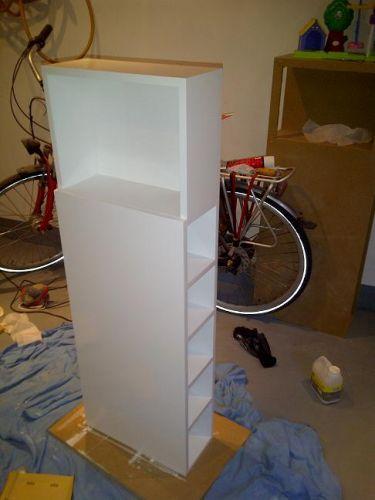 Zelf tv meubel voor badkamer maken for Badkamer zelf maken