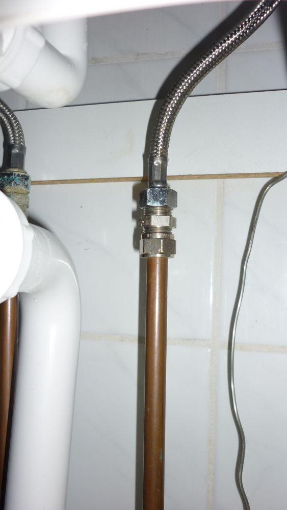 Extreem Wasmachine aansluiten: wateraanvoer NI84