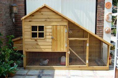 Gevraagd bouwtekening voor een kippenhok - Een hok ...