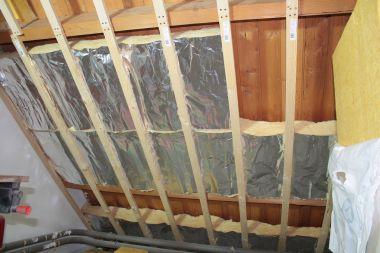 dubbele laag stucplaten bij aftimmering zolder