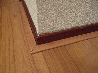 Welke plinten voor een laminaatvloer