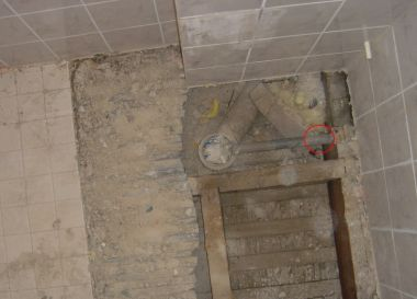 Platte Afvoerbuis Toilet : Platte wc afvoerpijp?