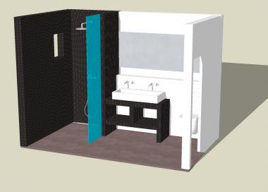 Advies voor badkamer for Tekening badkamer maken