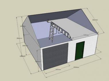 Garage Bouwen Prijzen : Goedkope stenen garage