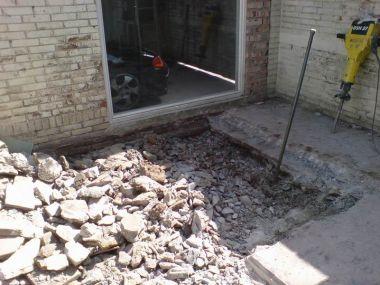 Voorkeur Betonnen plaat tuin verwijderen. CV93