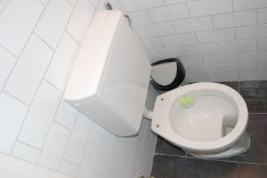 Ouderwetse Stortbak Toilet : Wc bril klapt terug