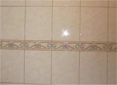 Extreem Randtegels badkamer, waarschijnlijk uit 2004 HD74