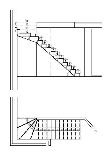 Zelf betonnen trap storten for Spiltrap berekenen