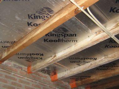 Plat dak isolatie onderkant plat dak