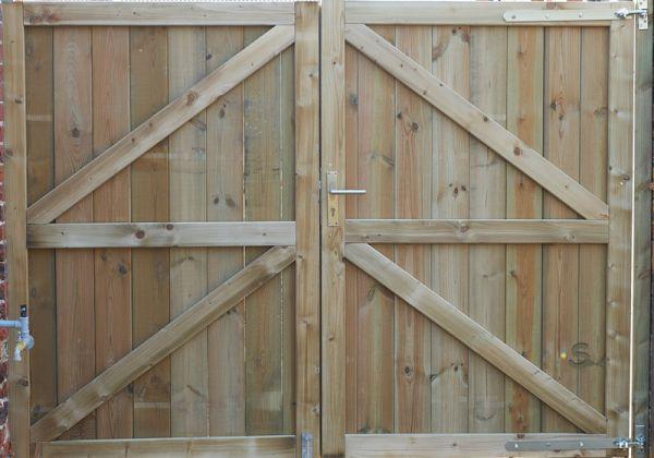 Fabulous Zelf een poort maken van 260cm breed @ZB37