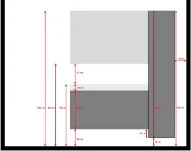 Badkamer: Plaatsingshoogte badmeubel/hoge kast/spiegel