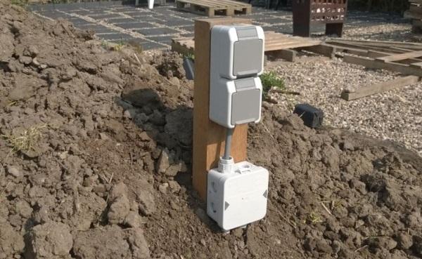Tuin Wcd Paal : Mijn eerste tuin stopcontact