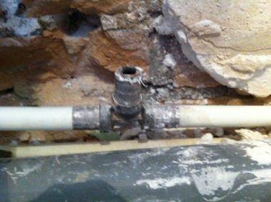 Voorkeur Kunststof waterleiding afdoppen EZ41