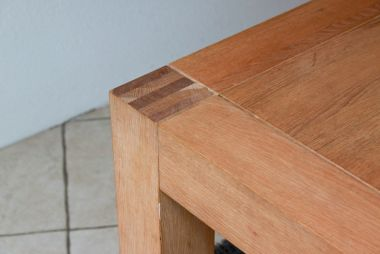 Eikenhouten meubels opknappen verfen
