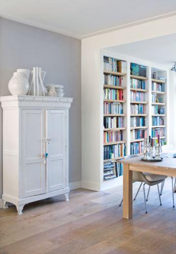 Inbouw boekenkast for Bentveld interieur leiden
