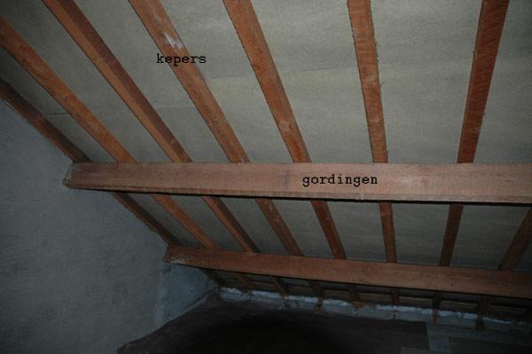 Verrassend Dak Isoleren - Dakpannen - Panlatten - Riet - houten balken VS-91