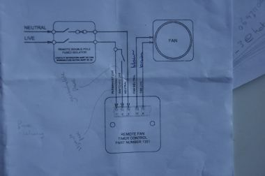 Ventilator Badkamer Aansluiten : Ventilator met nalooptimer aansluiten