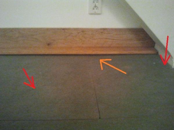 Vaak Houten vloer op zolder - ruimte onder vloer TE77