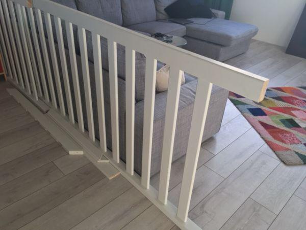 Plaatsen van traphek rondom trapgat for Trapgat maken