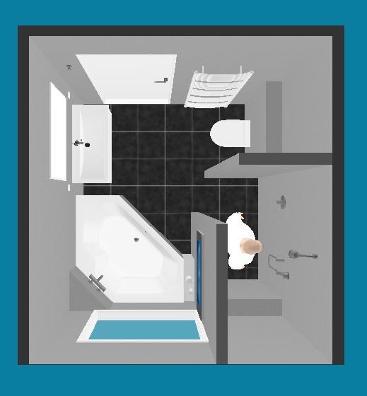 Idee voor indeling badkamer - Idee voor de badkamer ...