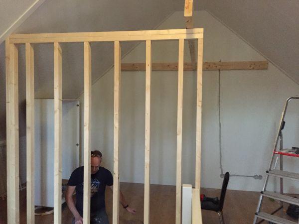Verbouwing zolder advies - Kamer met balken ...