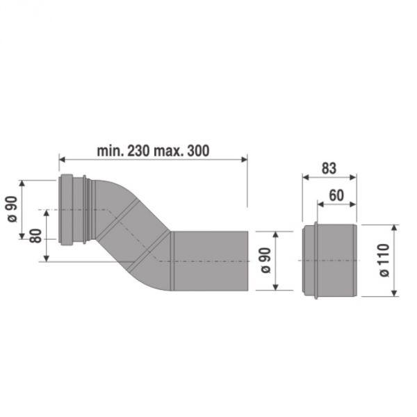 Dikte Afvoer Wc.Diameter Uitgang Toilet