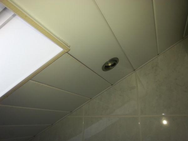 Isoleren badkamer plafond ?