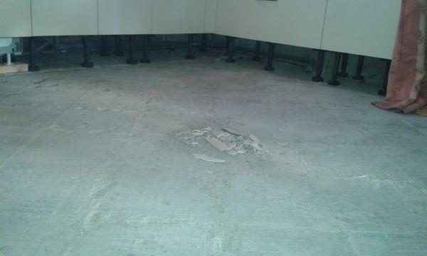 Favoriete Cementdekvloer egaliseren EA71
