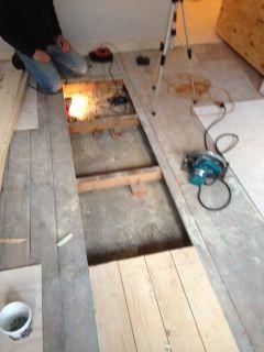 Isoleren houten vloer slechts 10 cm ruimte for Houten vloer isoleren
