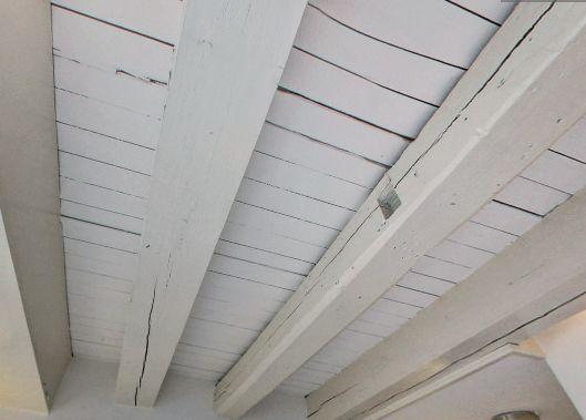 Houten balken plafond maken stunning interesting zwart geverfde
