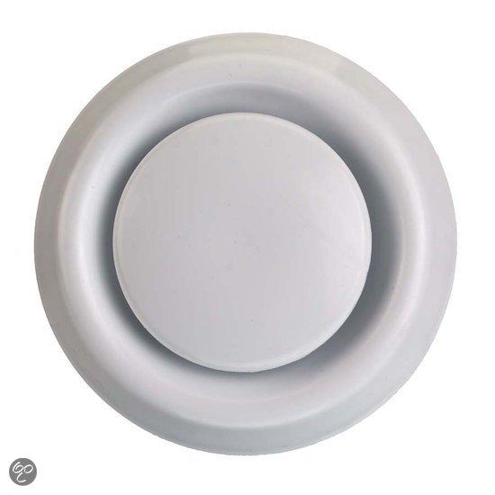 Ventilatie badkamer - rooster boven de deur plaatsen