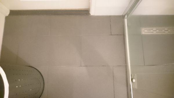 Verkleuring voegen badkamer