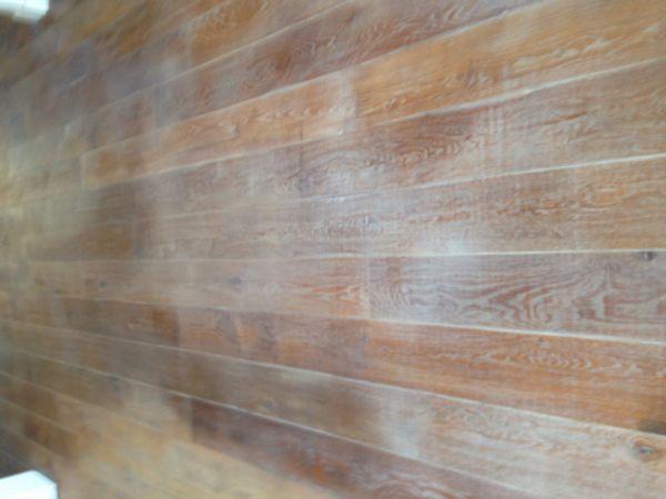 Eiken houten vloer niet egaal na behandeling hard wax