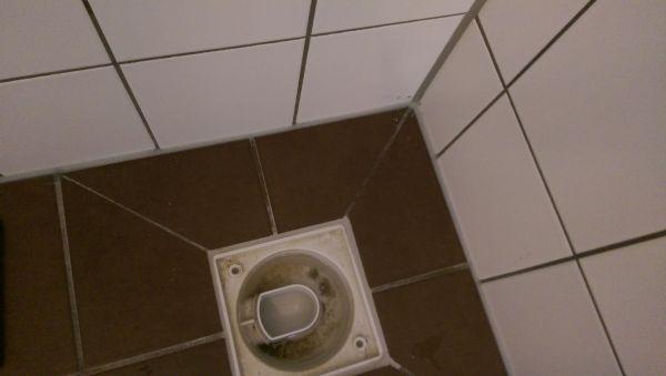 Lekkage badkamer - kapotte voeg
