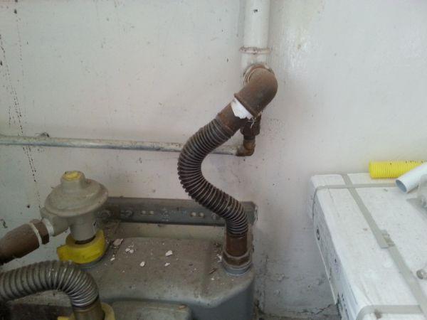 Wonderbaarlijk Henco gasleiding bij de gasmeter aansluiten? JG-15