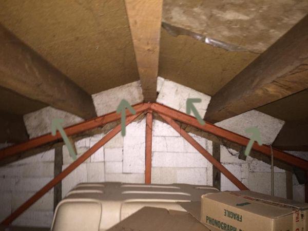 eps parel isolatie tussen bestaand plafond en dakbeschot?, Deco ideeën
