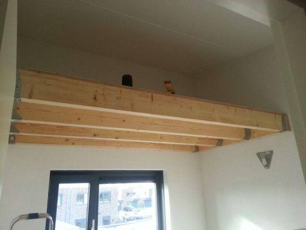 Raveeldragers aan muur bevestigen dikte balken voor zolder - Slaapkamer met zichtbare balken ...