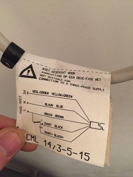Mechanische ventilatie bediening maken