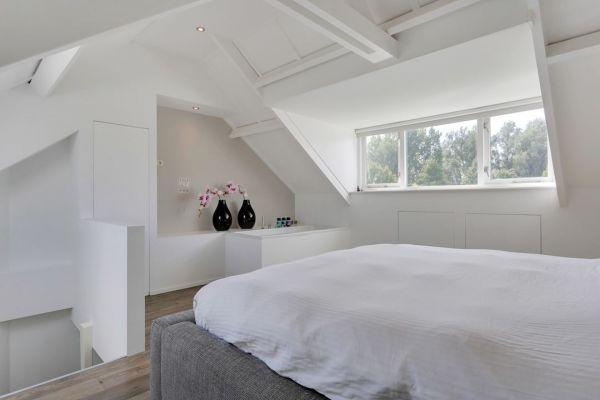 Televisie ophangen in slaapkamer met bad