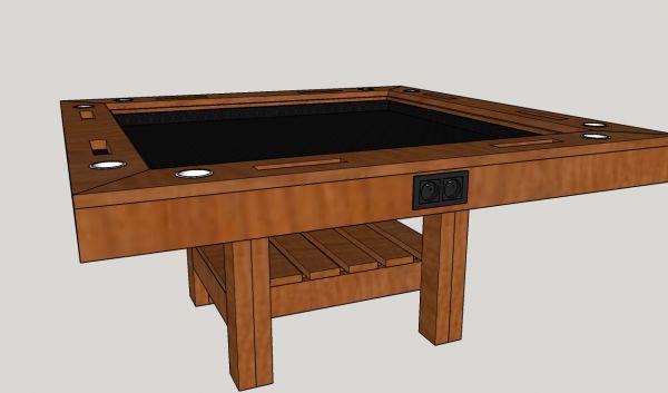 Ontwerp game tafel for Tafel ontwerp