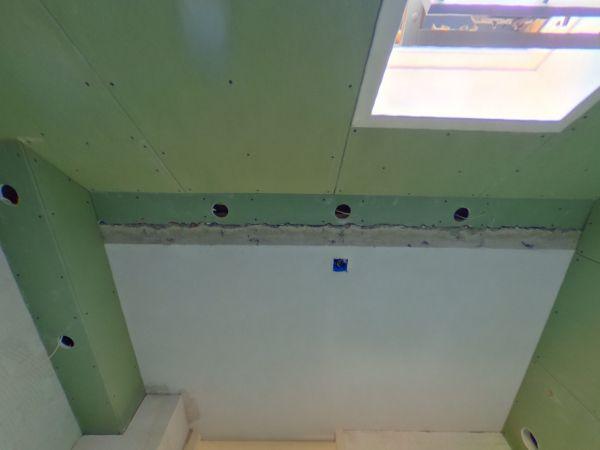 gipsplaten tegen plafond lijmen waarmee