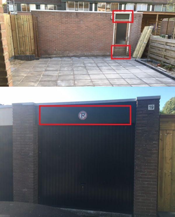 Zeer Enkelsteens garage vochtvrij maken KT99