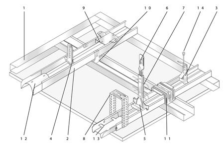 Uitzonderlijk Maximale Overspanning Metal Stud Plafond FP89