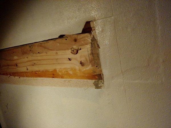 Schuine wand badkamer dakbeschot