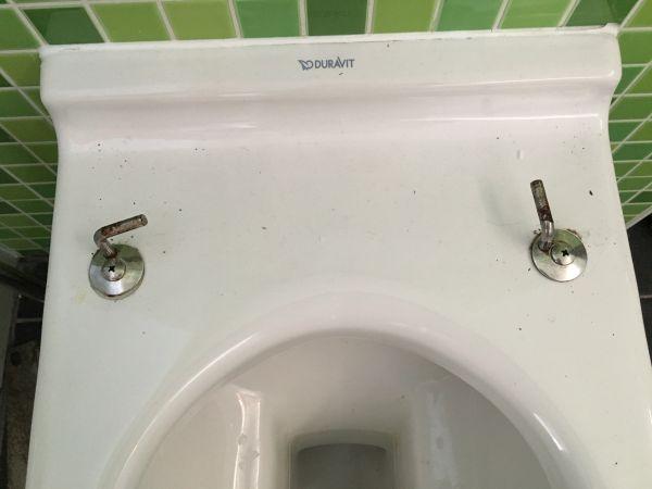 Duravit Wc Bril Vervangen.Toiletbril Demonteren Duravit Starck
