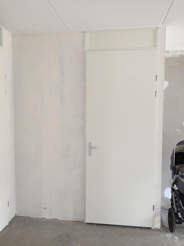 Draaiende deur vervangen door schuifdeur nieuwbouwhuis - Schuifdeur deur ...