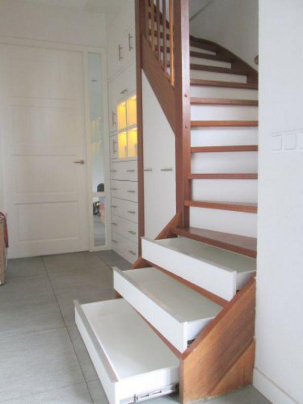 Lades in trap maken nadelen for Dichte trap maken