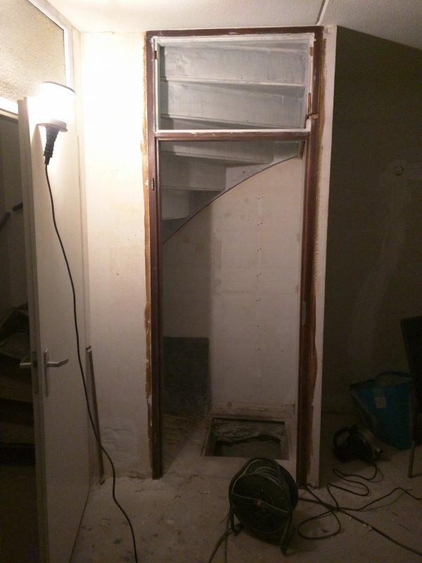 Geliefde Bovenlicht deurkozijn weghalen - Hoe? AY93